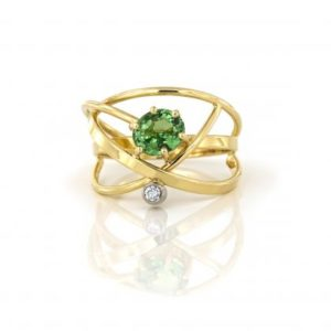 Atelier-Bockweg-en-Eekels-Ring-tsavoriet-diamant-420x420